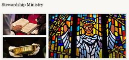 Large stewardship ministry