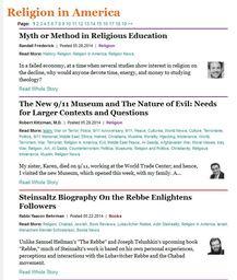 Large religion in america blog