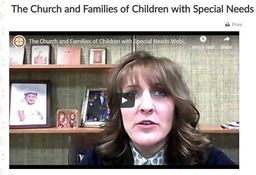 Large church and families special needs