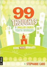 Large 99 thoughts smaller church youth workers