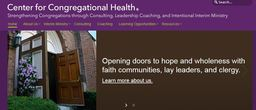 Large center for congregational health